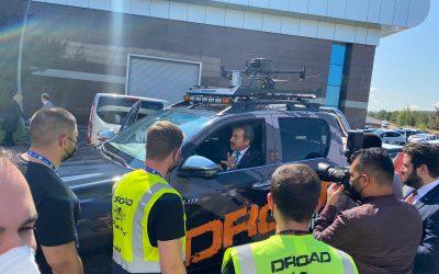 III. Askeri Radar ve Sınır Güvenliği Zirvesi'nde DROAD ziyaretçilerin ilgi odağı oldu!